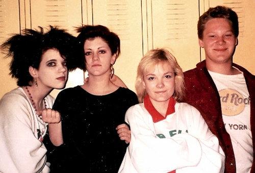 80's new wave high school daze  by Jane in Catland - ON TEMP. BREAK