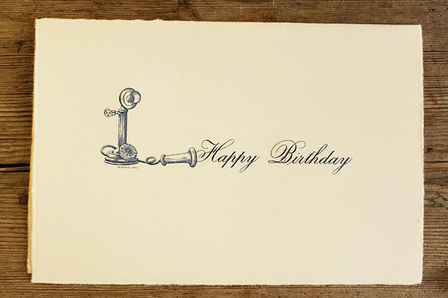 happy birthday card  italian handengraved  it is sheer pl…  flickr, Birthday card
