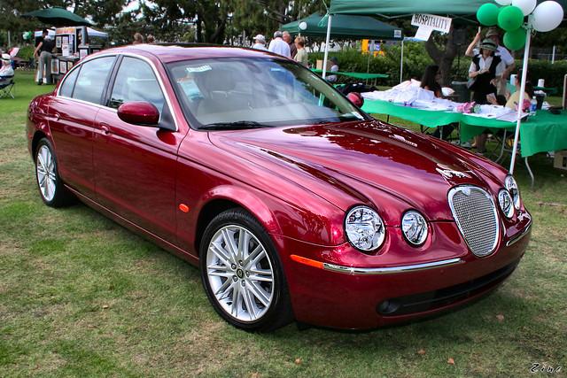 2007 Jaguar S Type 3 0 Red Met Fvr Rex Gray Flickr