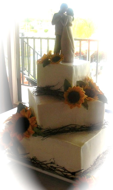 Square Offset Cake