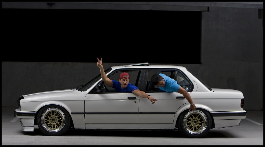 Luke Alpine E30 Xxr Gold Mesh Bbs Lm Flash Side Profile He