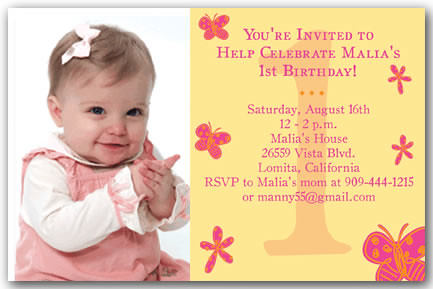 Imgenes De 1st Birthday Invitation Wording Religious