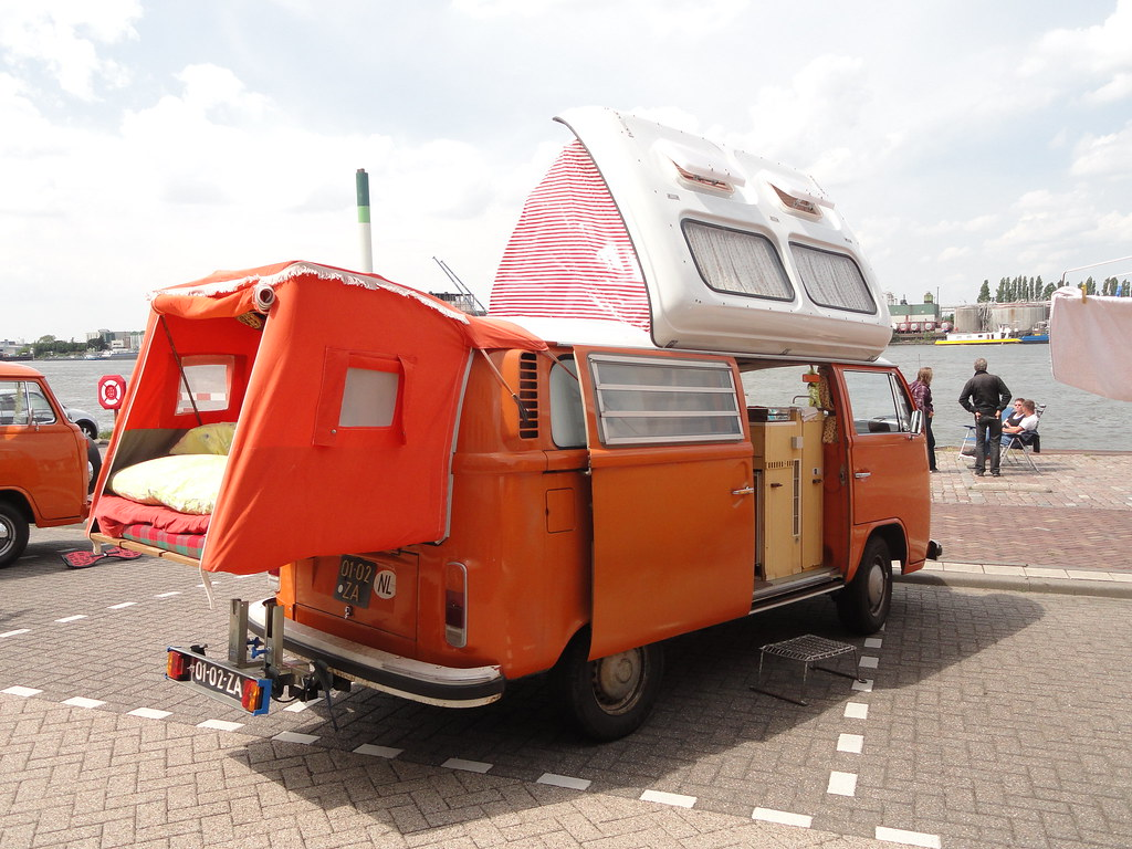 1973 vw t2 camper 29 may 2010 dordrecht netherlands. Black Bedroom Furniture Sets. Home Design Ideas