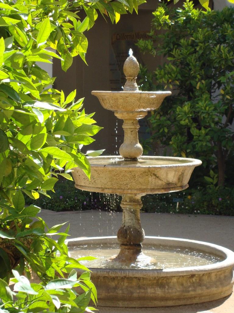 Spanish Garden Fountain Diana Lee Photography Flickr