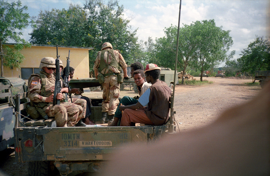 3 14 Inf In Somalia Taken During Operation Restore Hope