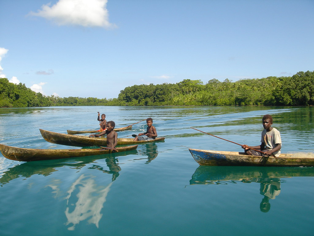 Fishing trip solomon islands as part of their for Solomons island fishing report