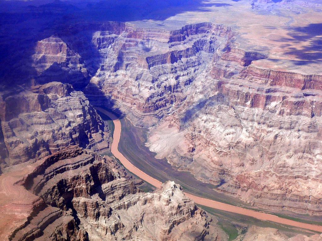 El río Colorado | El río Colorado a vista aérea. | Ricardo ...