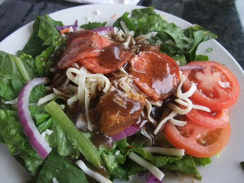Side Salad at Vito's at the Links | by swampkitty