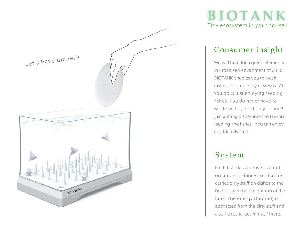 Bio Tank Robotic Fishwasher Akifusa Nakazawa Japan