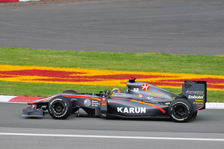 Hispania Racing driver Karun Chandhok of India in the Senna Corner (2010 Canada GP) | by Gregory Moine