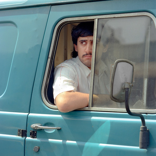 blue van  1986