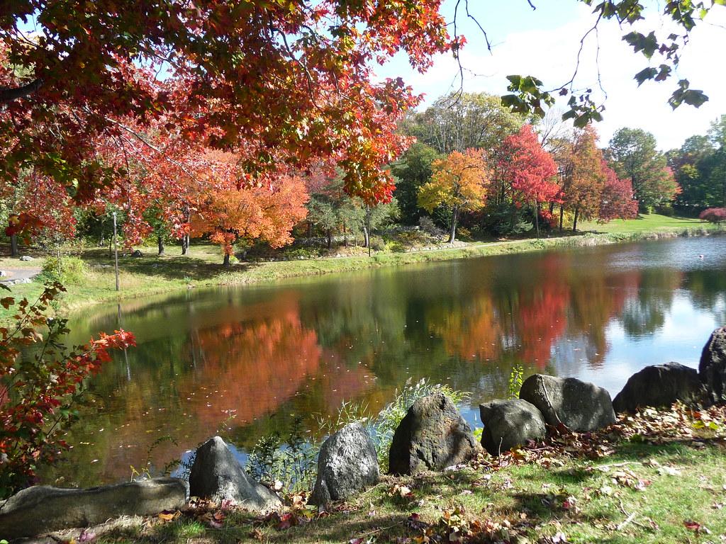 Fulton Park Waterbury Ct Lower Pond Ildavenport Flickr