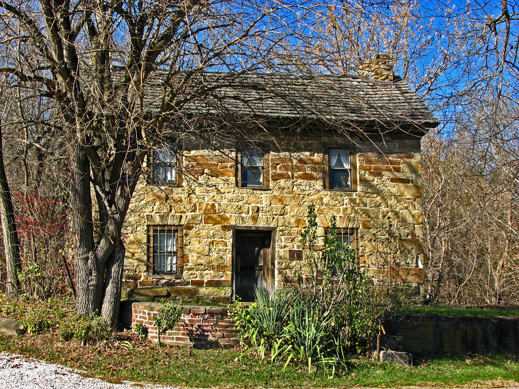 Phillip moore jr stone house 1797 i was impressed by for Cobblestone house