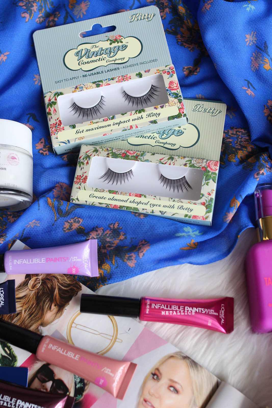 The Vintage Cosmetic Company False Lashes Review June Beauty Essentials