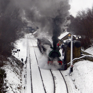 Steaming Through The Station | by saxman1597