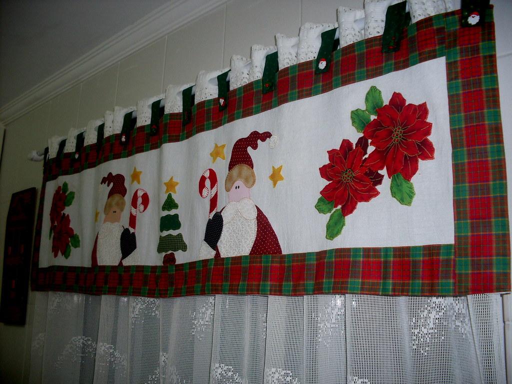 Band natal em patchwork jucilei vipieski flickr - Modelos de cortinas para cocinas ...