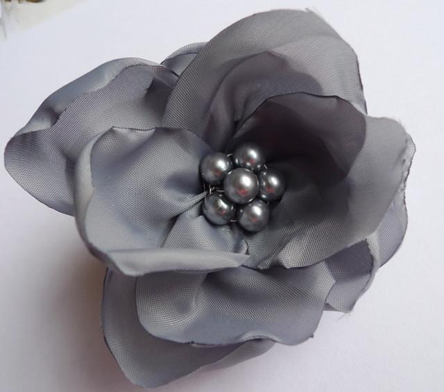Handmade fabric flower brooch pin with pearl centre flickr handmade fabric flower brooch pin with pearl centre by mystudio mightylinksfo