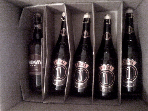 My first Fresh Direct order. Celebration time with @BrooklynBrewery | by Dave Surgan