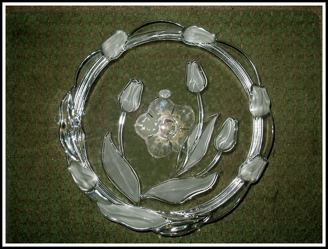 Crystal Cake Stand Hire London