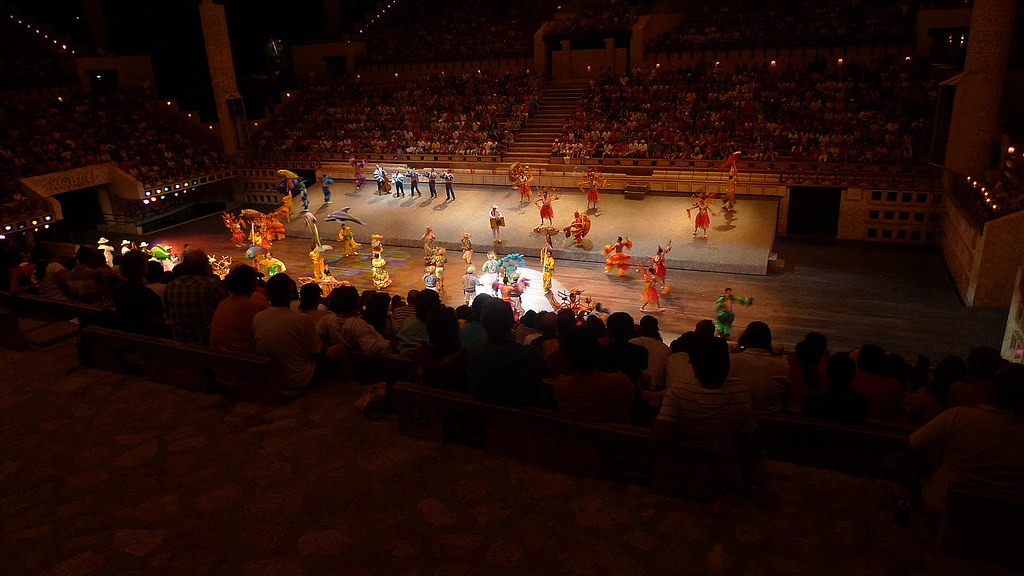 Xcaret Theater show
