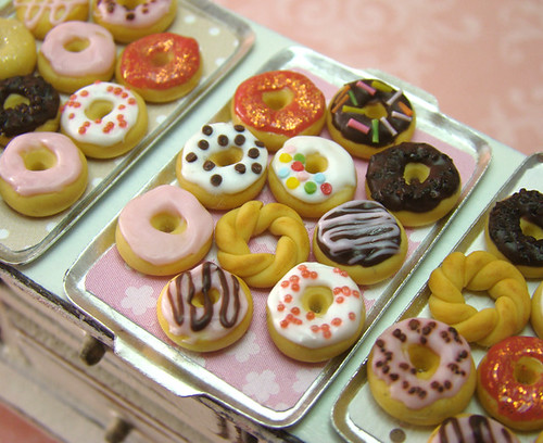 Miniature Food - Crazy Donuts Set A | by PetitPlat - Stephanie Kilgast