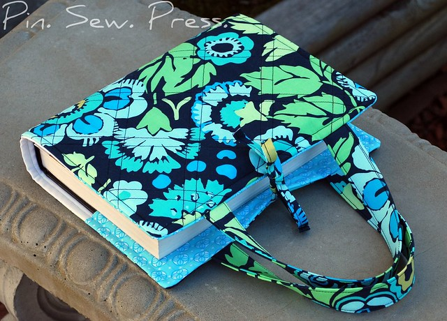 Diy Quilted Book Cover ~ Quilted bible cover made with park city girl s free