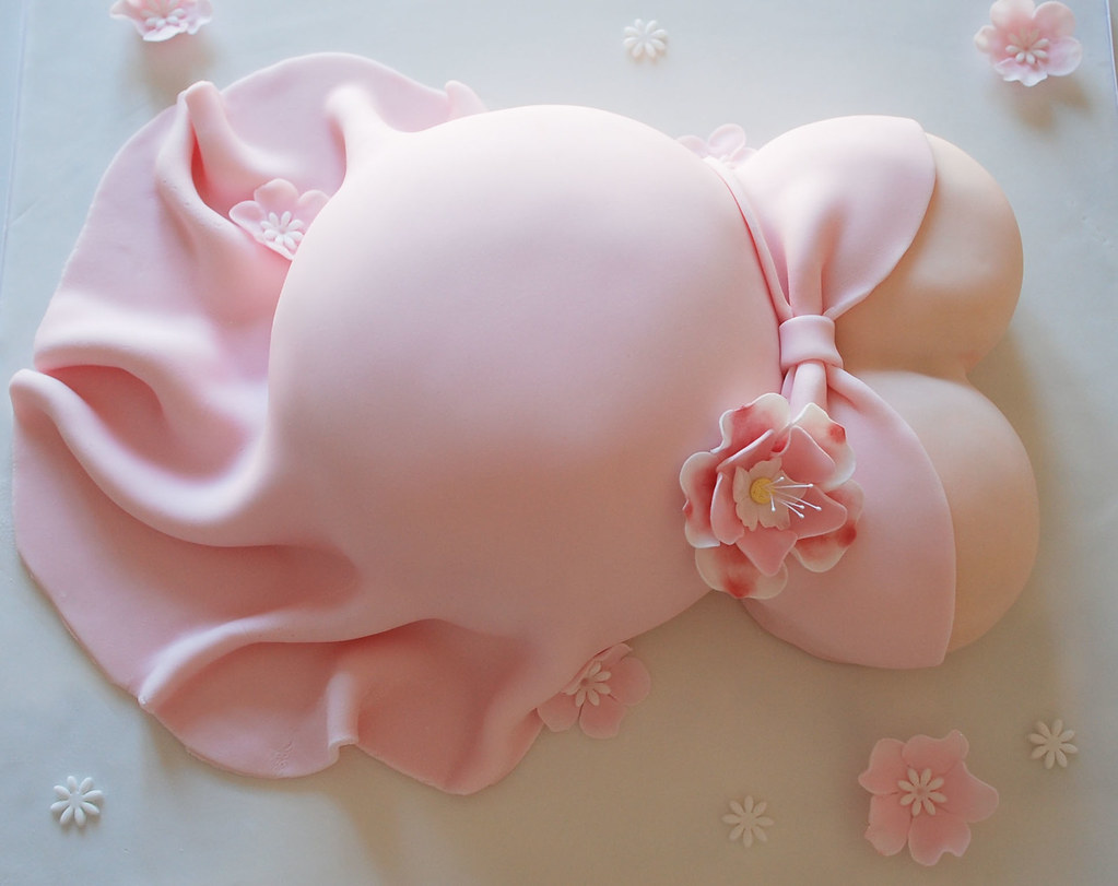 Baby Shower Belly Cake Pan