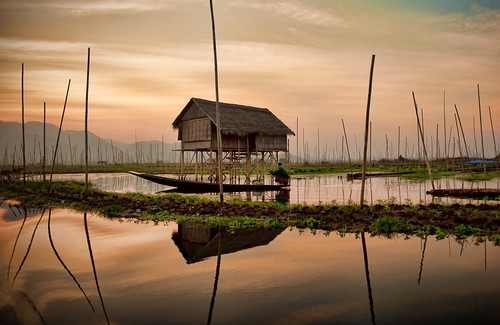 Inle Lake Reflections | by samthe8th