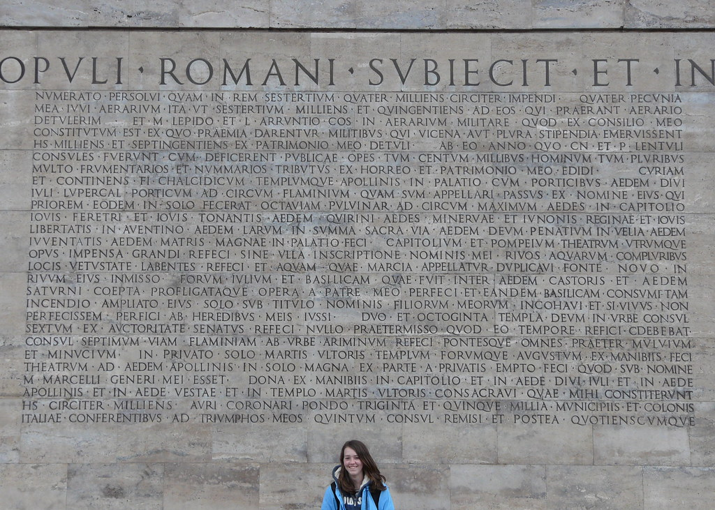 Res gestae part four a modern recreation of the res - Res gestae divi augusti ...