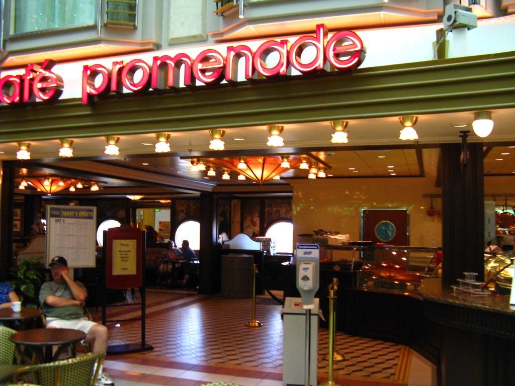 The Promenade Cafe Menu