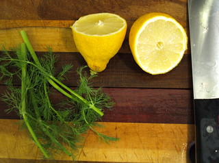 lemon and fennel fronds | by garden apartment