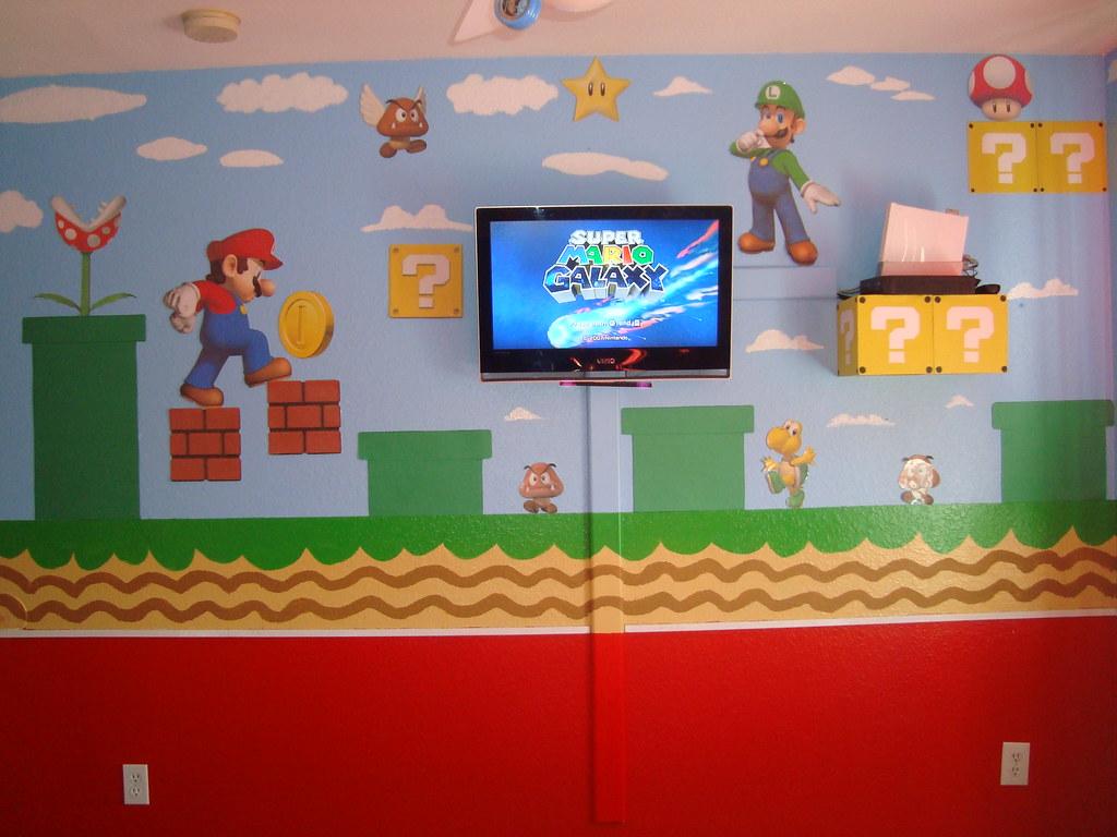 Mario Bedroom Bedroom Cuarto Mario Bros Super Mario Childs Bedroom Flickr