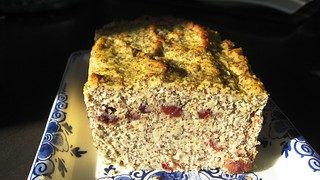 Poppy Seed Apple Coconut Loaf | by NuttyKitchen