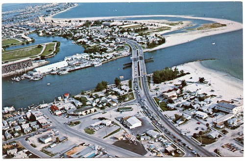 John 39 s pass bridge connecting beautiful treasure island for John s pass fishing