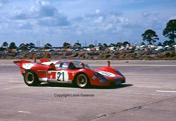winning ferrari 512s at sebring 1970 for most of the race flickr. Black Bedroom Furniture Sets. Home Design Ideas
