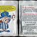 Quaker - Cap'n Crunch Ship Shake packet chocolate flavor - 1960's