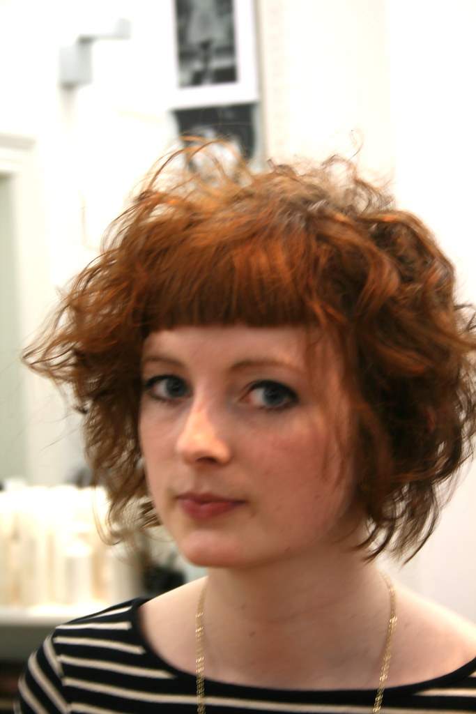 Layered Bob Blunt Bangs Dathan Hunter Salon Flickr