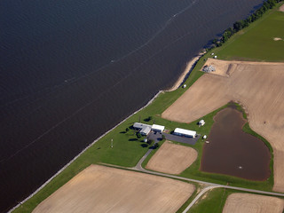 Farm on the edge of Chesapeake Bay | by eutrophication&hypoxia