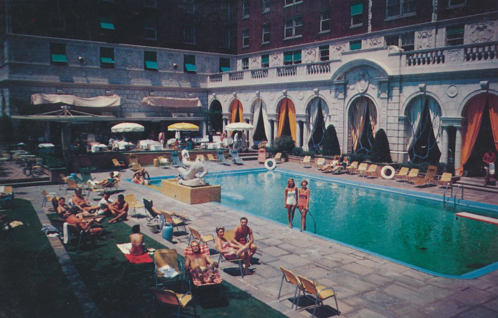 The Chase Hotel St Louis Missouri The Swimming Pool Is Flickr