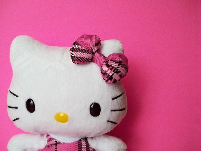 Hello Kitty Plush Car Seat Covers