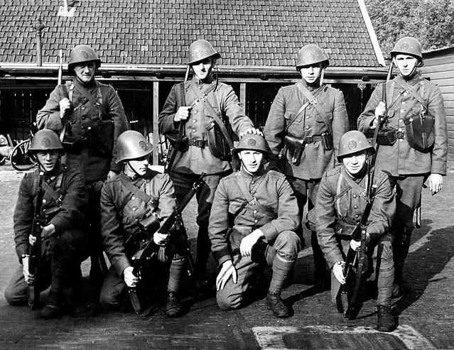 Waiting for the War to start. Dordrecht, The Netherlands. April 1940.
