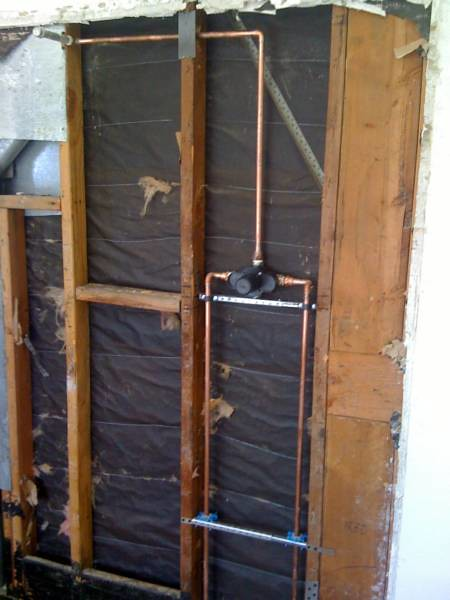 Shower Remodel- Plumbing Rough In | New Master walk in showe… | Flickr
