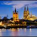 Köln - Kölner Dom and Groß St. Martin
