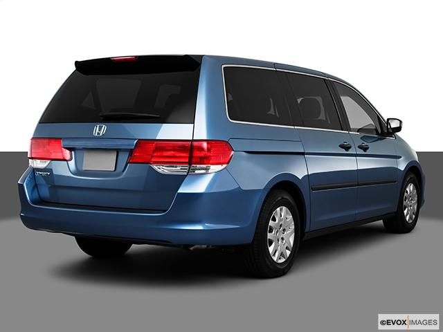 2010 honda odyssey lx 048 passenger side rear view of for Honda dealership burnsville mn