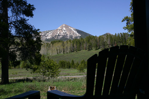 View Of Hahn 39 S Peak From The Deck Of Cabin