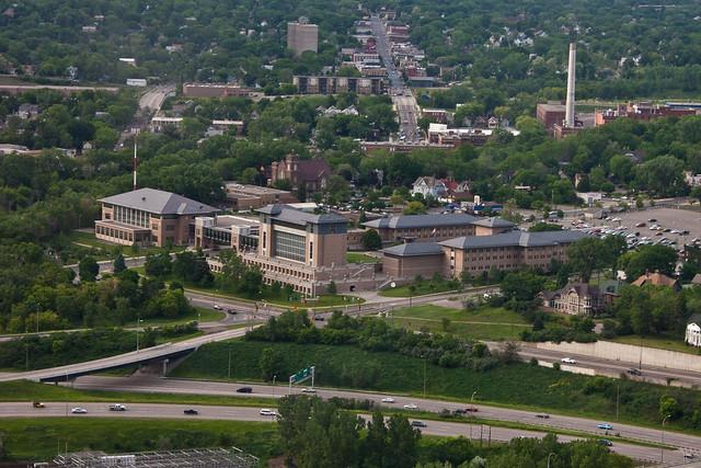 metropolitan state university aerial flickr photo sharing