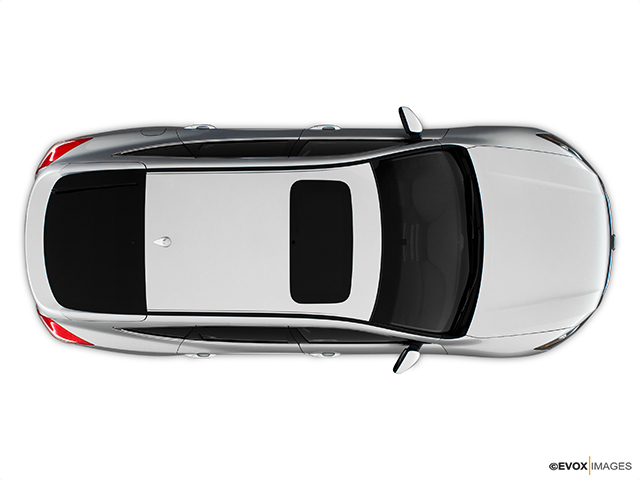 2010 Honda Accord Crosstour Ex L 117 View From Overhead