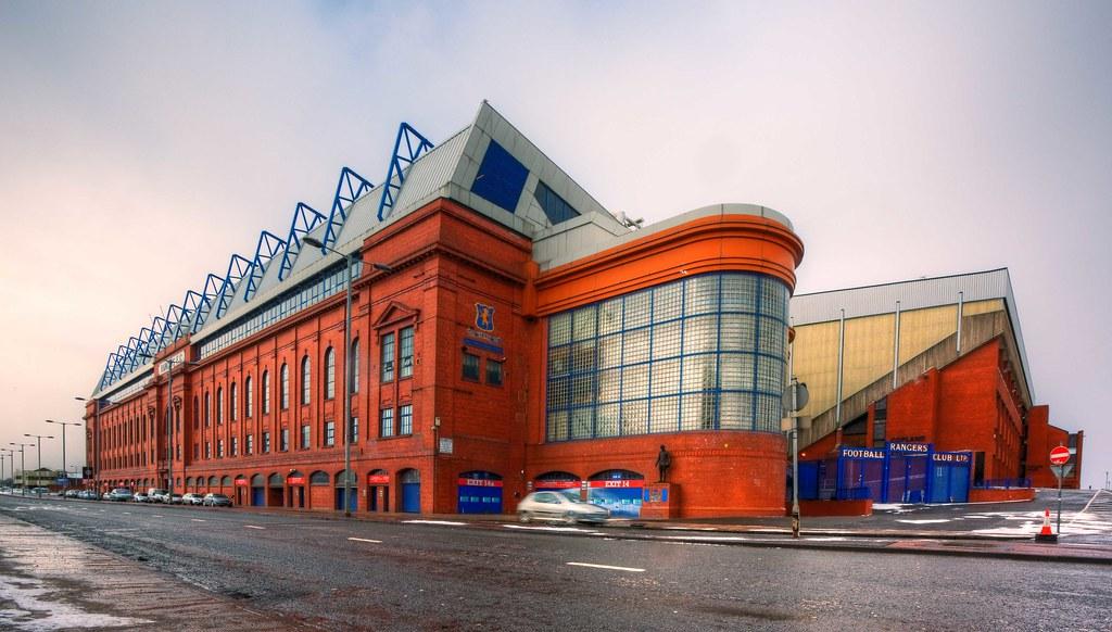 Ibrox Stadium Home Of Rangers Fc Ibrox Park Is A