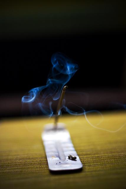 how to make incense smoke more