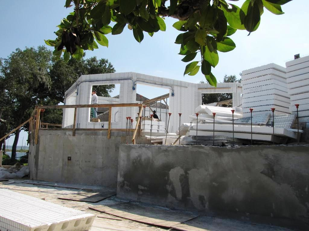 Ecosmart green building in florida insulated concrete te for Icf homes for sale in florida